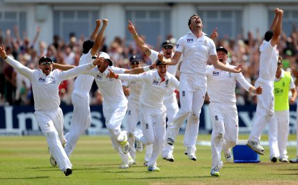 England go full England in D/N test against New Zealand.