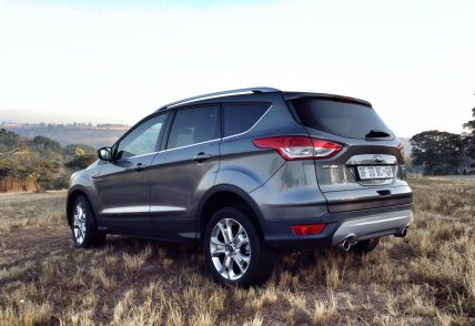 The new Ford Kuga - pioneering the rise of the mid-level SUV.