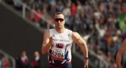 The Superhuman paralympics promo video. With Oscar?