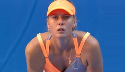 Sharapova on Still Not Convinced About The Maria Sharapova Theory