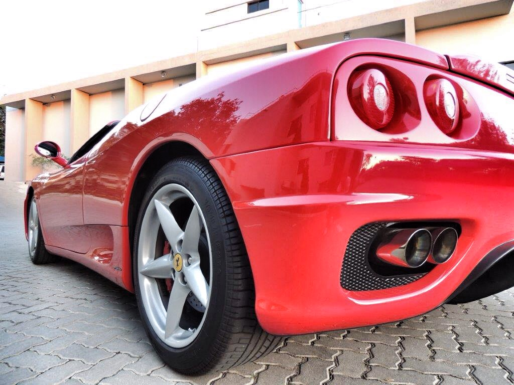 The Ferrari 360 Spider - what cars are meant to be about.
